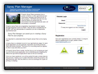 Spray Plan Manager